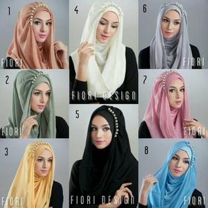 Jilbab hoodie Deeja Pearly