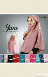 Jilbab Khimar Sayra Jane