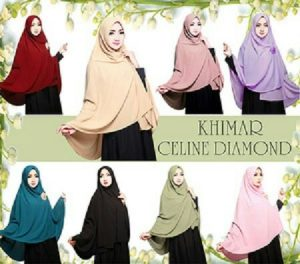 Jilbab khimar celline diamond