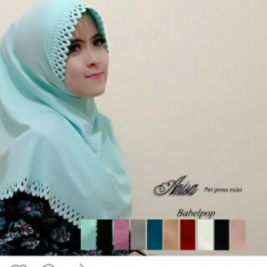 Jilbab Anisa Pet Press mini