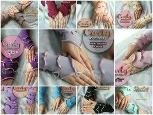 Handsock/Manset tangan Curly