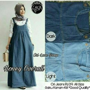 Honey overall denim