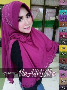 Jilbab Khimar Pad Pita Press Payet