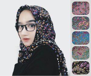 Jilbab segiempat shabby Zara seri 4
