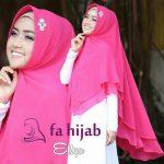 Jilbab instan khinar ellya siffon
