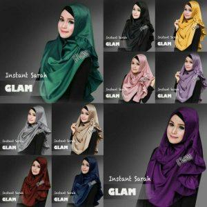 Jilbab instan sarah glam