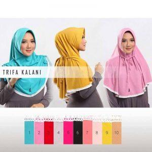 Jilbab Instan Trifa Kalani Jersey