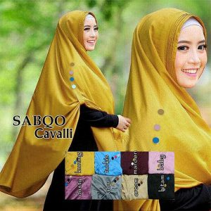Jilbab Instan Khimar Sabqo Satin velvet