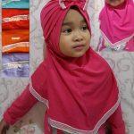 Jilbab instan anak Syria Turban Minni