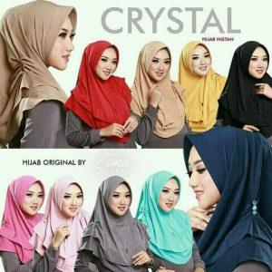Jilbab Instan Hijab Instan Crystal Jersey Zoya