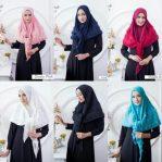 Jilbab instan / Hijab Segi3 Rubiah / Segitiga Rubiah