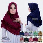 Jilbab instan / Hijab Bergo Mikri Cutting jersey zoya