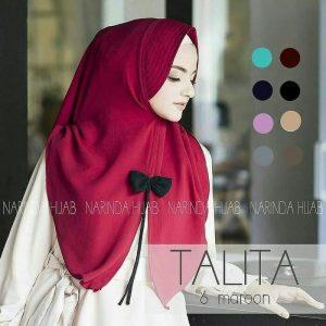 Jilbab instan / Hijab Talita Pita Tali bubble pop