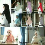 Jilbab Instan Ixora Hijab with pad