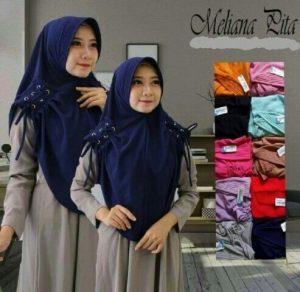 Jilbab Instan Meliana Pita Ring with pad