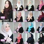 Jilbab instan / Hijab Coupli Slup Pita