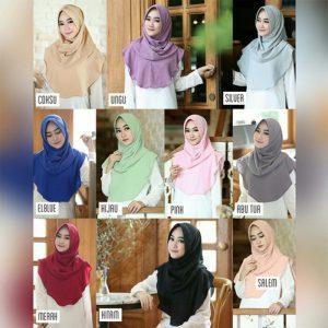 Jilbab instan / Hijab Instan Felica Pad / Felica Withpad