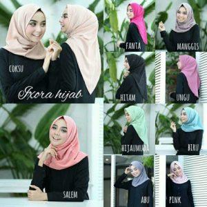 Jilbab instan / Hijab Instan Salwa pearly bubble pop