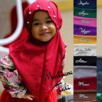 Jilbab anak / Jilbab Mutiara Tali diamond high