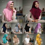 Jilbab Instan / Hijab Khimar Vierna softpad ceruti