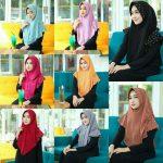 Jilbab instan / Hijab Instan Farra Pearly with pad bubble pop