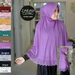 Jilbab instan / Bergo Serut Syari Zakiah with pad jersey
