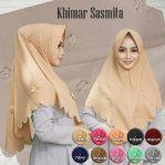 Jilbab instan / Hijab Khimar Sasmita pad antem bubble pop