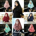 Jilbab instan / Jilbab Instan Audy Bergo with pad bubble pop