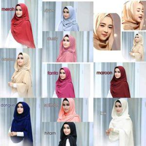 Jilbab instan / Hijab Instan Nissa bubble pop