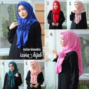 Jilbab instan / Hijab Instan Kinandra with pad bubble