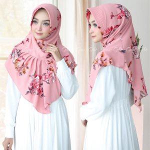 Jilbab instan pad antem / Hijab Bergo Ralia bubble pop