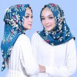 Jilbab instan non pad / Hijab Instant Salwa Chrysant velvet twist