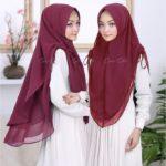 Jilbab instan / Hijab Khimar Miranda softpad antem ceruti ultimate