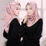 Jilbab Instan / Hijab Instant Salwa Sakura bubbleprint