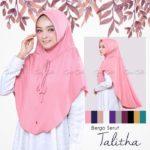 Jilbab Instan / Jilbab cantik / Bergo Serut Thalita with pad jersey zoya