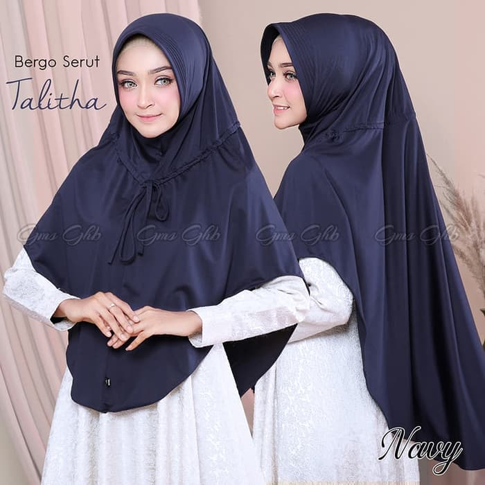 Jilbab Instan Jilbab Cantik Bergo Serut Thalita With Pad Jersey Zoya Www Ummigallery Com