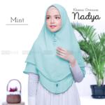 Jilbab instan / jilbab cantik / Khimar Oversum Nadya with pad double ceruti