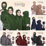 Jilbab Instan / Khimar Cadar Syar'i Sazida 4in1 jersey
