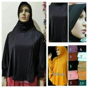 Jilbab bergo fatimah mini