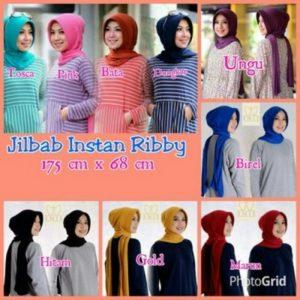 Yl jilbab instant ribby