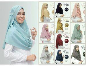 Jilbab pashmina instan raisa high quality