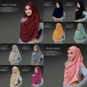 Jilbab instan diandra cantik