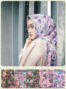 Jilbab segiempat shabby zara seri 1