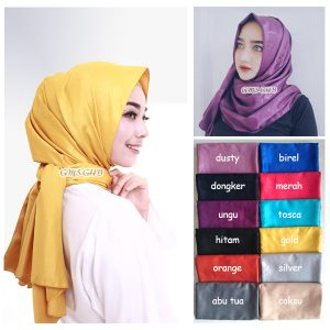 jilbab pashmina velvet embos