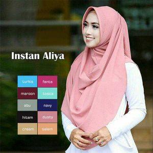 Hijab Instant Aliya Pad diamond