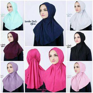 Jilbab instan / Hijab Maroko Daily Syria jersey zoya