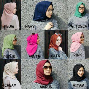 Jilbab instan / Hijab Instan Salwa diamond crepe