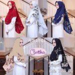 Jilbab instan / Khimar Amanda Siwy bubble pop with pad