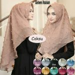Jilbab instan / Hijab instan Antemi Rubiah with pad