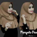 Jilbab instan / Hijab Instan Rempelia Pearly with pad Jersey zoya